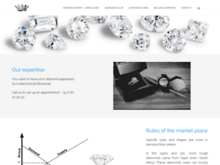 Revendre diamant selon le cours du diamant