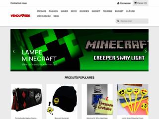 idée cadeau boutique geek