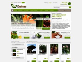Vente de graines : plus de 1000 références de graines