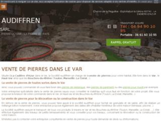 Détails : Vente de pierre du var et de matériaux