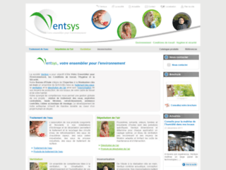 Détails : Ventsys, traitement des eaux usées industrielles