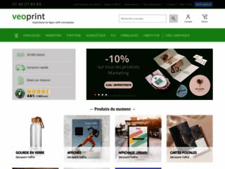 Détails : Impression en ligne avec Veoprint