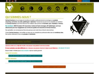 Détails : Vertical Aventure, sorties de canyoning, via ferrata et d'escalade