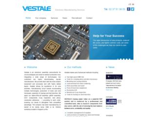Détails : Carte électronique, câblage filaire, composants cms , bga : Vestale