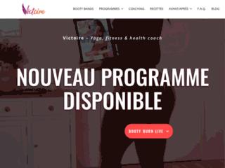 Victoire Fit, des programmes personnalisés pour une forme de rêve