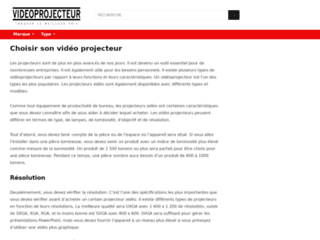 Videoprojecteur.ovh