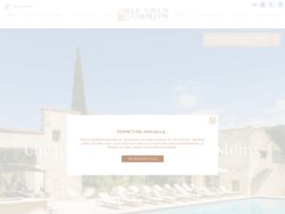Détails : Hôtel 4 étoiles en Provence - Hôtel Le Vieux Castillon