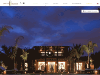 Détails : Villa Jardin Nomade Marrakech