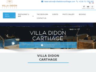 Détails : Villa Didon Carthage: Hôtel & Spa 5 étoiles à Tunis