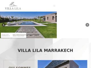 Détails : Villa piscine Marrakech