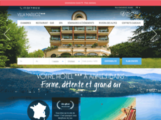 Détails : Villa Marlioz, cures thermales à Aix les Bains
