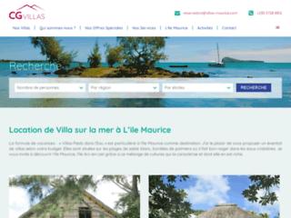 Détails : Location de villas à l'île Maurice avec CG Villas