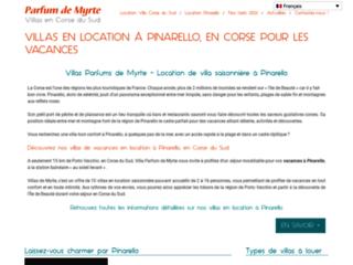 Location de villa de vacances à Pinarello