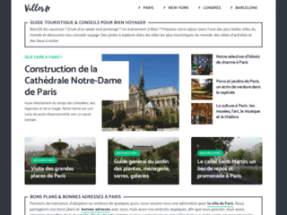 Détails : Villes.fr: guide pour bien voyager et conseils séjour