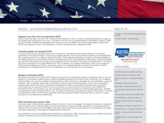 Procédure d'obtention de l'autorisation ESTA en ligne
