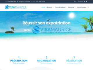 Détails : Visa Maurice