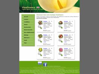 VisaFlowers - Faites livrer vos fleurs partout en France