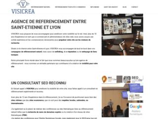 Visicrea, agence de référencement naturel de site web