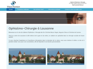 Ophtalmo-Chirurgie à Lausanne