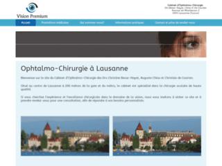 Chirurgie de la cataracte par laser à Lausanne