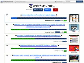 Visitez Mon Site : Publicité Internet