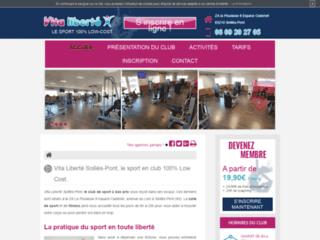 Détails : Vita liberté Solliès-Pont, salle de musculation