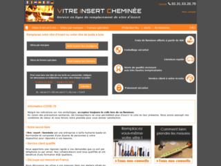 Vitre-insert-cheminee.fr : service en ligne de remplacement de vitre d'insert