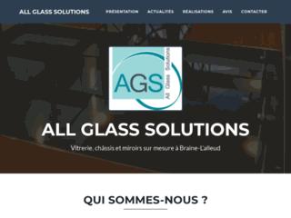 Vitrerieags.be : entreprise de vitrerie miroiterie à Braine-L'Alleud