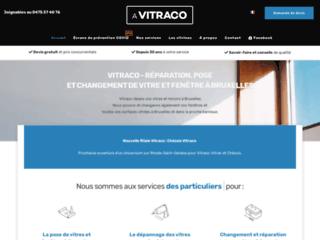 Vitrerie Vitraco, service de vitrerie et de miroiterie à Bruxelles
