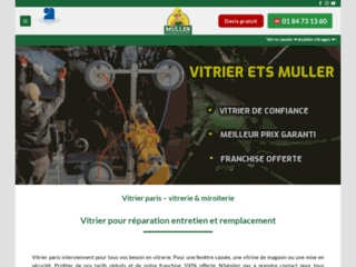 Vitrine magasin : Artisan Vitrier - Devis gratuit - 01 84 73 13 60
