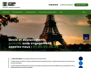 Vitrier-Paris.fr : Devis et Déplacement Gratuits sur Paris/IDFVitrier Paris : expérience et savoir faire