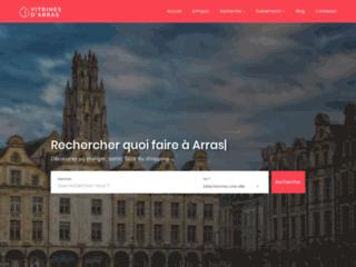 Vitrines d'Arras : le site des commerçants d'Arras