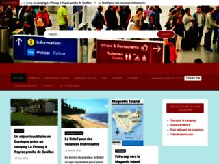 """Détails : Site de communiqués de presse """"voyage/tourisme"""""""