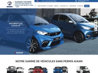 Voiture sans permis à  Romilly-sur-Seine – Garage Sellières