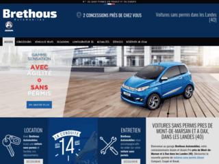 Voiture sans permis à Mont-de-Marsan - Brethous Autos