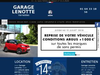 Concessionnaire de voiture sans permis à Meaux 77 - Garage Lenotte