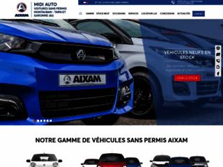 Midi Auto, vente et location de véhicule sans permis à Montauban 82