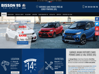 Ventes et locations voitures sans permis 95 – Ets Bisson