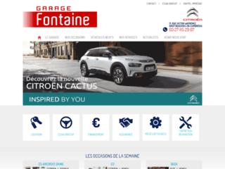 Garage Citroën à Cambrai dans le 59 - Garage Fontaine