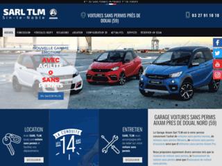 Ventes et locations de voitures sans permis Sin-le-Noble 59 – Aixam TLM
