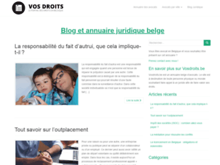Tout savoir sur vos droits en Belgique