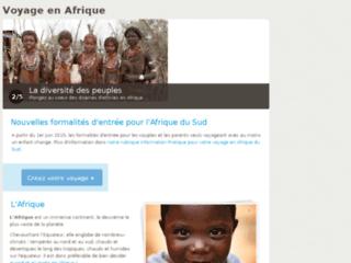 Détails : Voyage en Afrique
