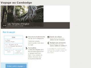 Détails : Voyager au Cambodge