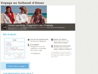 Détails : Voyager à Oman
