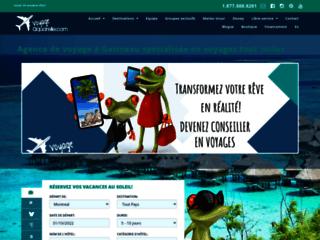 Agence de voyage à Gatineau dans l'Outaouais spécialisé en tout inclus