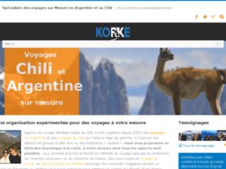 Détails : Voyage Argentine