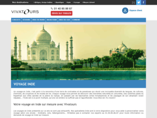 Agence de voyage Inde : Vivatours