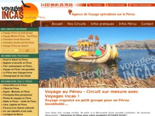 Organisation voyage au Pérou