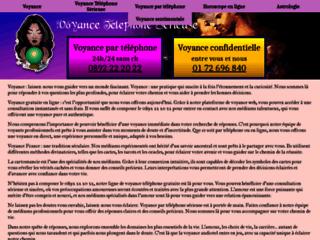 Détails : Site de voyance gratuite en ligne