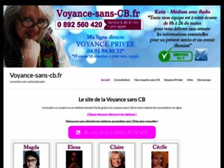 Voyance-sans-CB.fr, services de voyance par téléphone sans carte bancaire